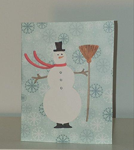 - Snowman Holiday Card
