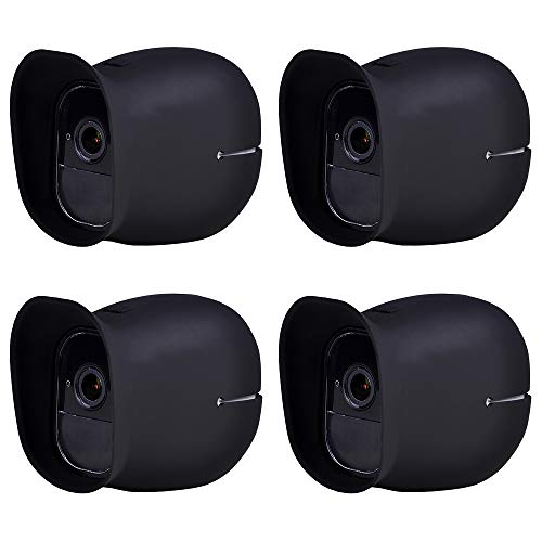 4 x Silicone Skins for Arlo Cameras, Protective Cover Case for Arlo Pro Wireless Smart Security Camera Accessories