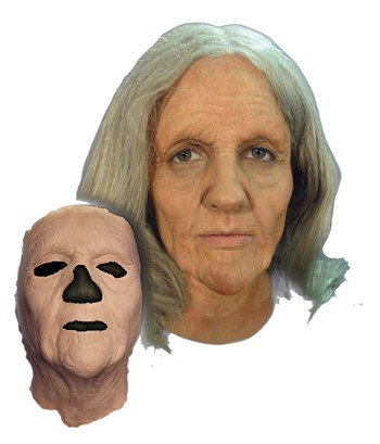 PROSTHETIC OLD WOMAN MASK ()