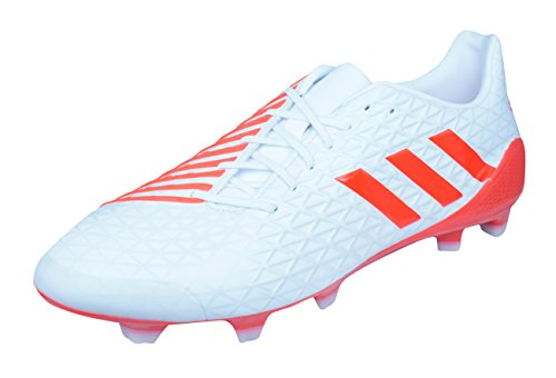adidas Predator Malice FG Mens Rugby Boots-White-12 (Adidas Predator Rugby)