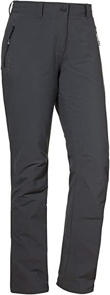 Stretch Sch/öffel Pants Engadin Court Pantalon Femme de randonn/ée