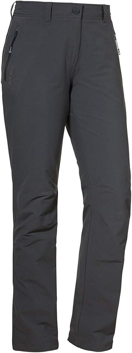 kuschelige und wasserabweisende Outdoor Hose Sch/öffel Damen Pants Vantaa2 warme und robuste Wanderhose mit h/öchstem Tragekomfort