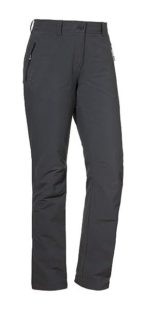 schnüren in billiger Verkauf spottbillig Schöffel Pants Engadin Damen Outdoor Hose, strapazierfähige Wanderhose für  Frauen, wasserabweisende Damen Hose mit sportlichem Schnitt