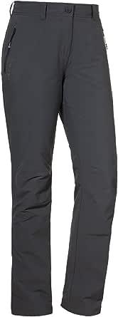 Schöffel Pants Engadin W, duurzame wandelbroek voor vrouwen, waterafstotende damesbroek met sportieve snit voor dames