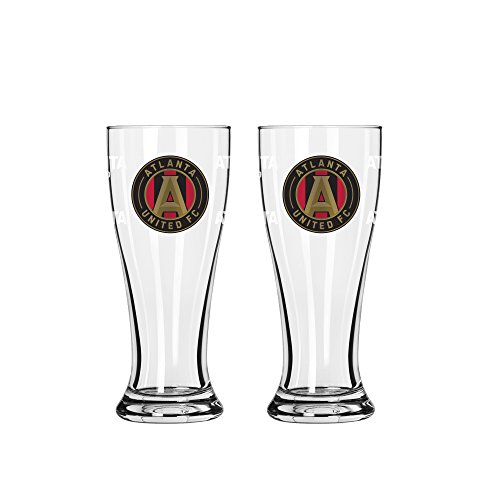 fan products of MLS Atlanta United FC Mini Pilsner, 2.5-ounce, 2-Pack