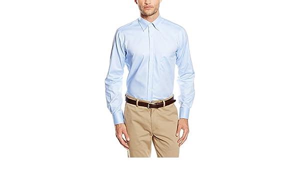 Mirto Happy Boton Camisa, Azul, 3 para Hombre: Amazon.es: Ropa y ...