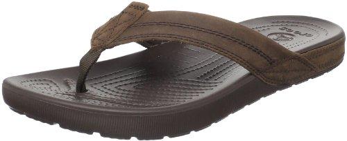 f764c416f2d Crocs Men s Yukon Flip Espresso Espresso Sandal 11342-22Z-680 9 UK   Amazon.co.uk  Shoes   Bags
