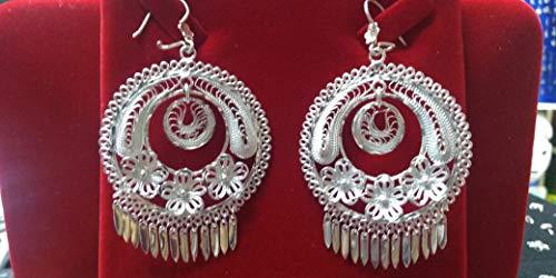 - pendants filigree of silver law .925 hand knitted, of guelaguetza de oaxaca 3