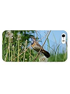 3d Full Wrap Case for iPhone 5/5s Animal Bird In Grass