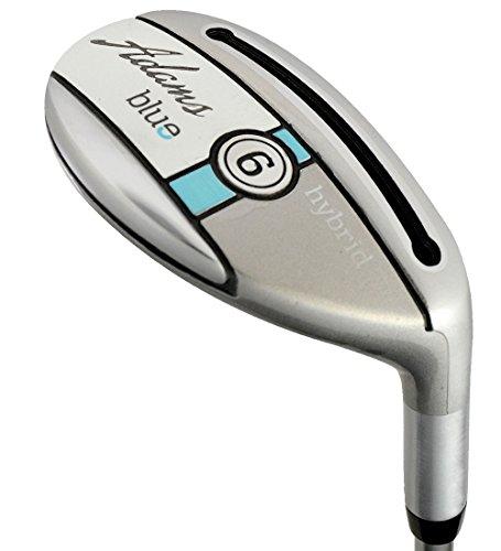 Adams Blue Women's Golf # 6 Hybrid Club, Right Hand, Ladies Flex, Graphite