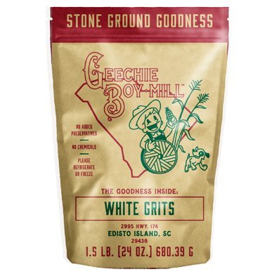 Ground Shrimp (Geechie Boy Mill Stone Ground White Grits)