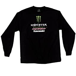 Pro Circuit Team Monster Long Sleeve Tee Black Xl/x-Large