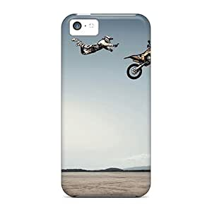 TYH - ipod Touch4 Case Cover Skin : Premium High Quality Good Jump Case ending phone case