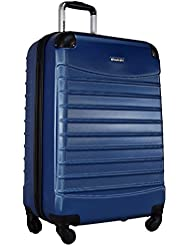 Ciao Voyager Hardside Luggage Spinner Wheeled 24-inch Suitcase