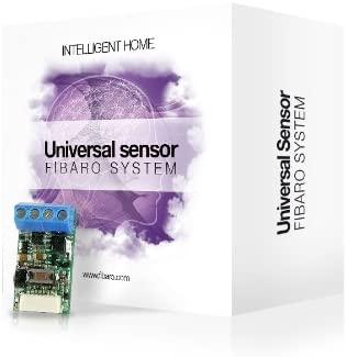 Fibaro FGBS-001 Sensor Binario Universal, Negro