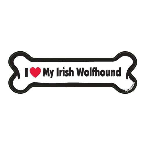 Irish Wolfhound Pet Magnet