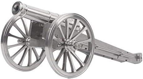 Lymhy Super Napoleon Stainless Steel Pocket Artillery Mini Cannon Military Model