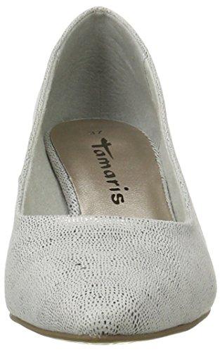 927 Pumps Women''s Closed Silver Tamaris silver Struct 22415 toe wF6wTa
