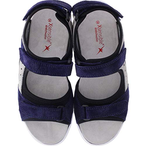 Azul Vestir para Sandalias de Mujer XSENSIBLE pqTXOwB