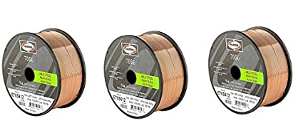Harris E70S6F8 ER70S-6 MS Spool with Welding Wire, 0.035 lb. x 33 lb. Harris Products Group