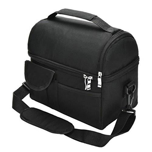 Weiliru Large Ice Pack Double Insulated Bag Breast Milk Storage Bag Bento Bag Food Cooler Bag
