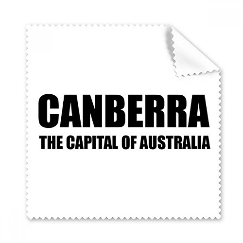 Canberra The Capital Of Austrialia Glasses Cloth Cleaning Cloth Phone Screen Cleaner 5pcs - Canberra Glasses