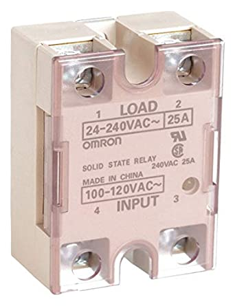 25A Solid State Relay 100 to 120VAC