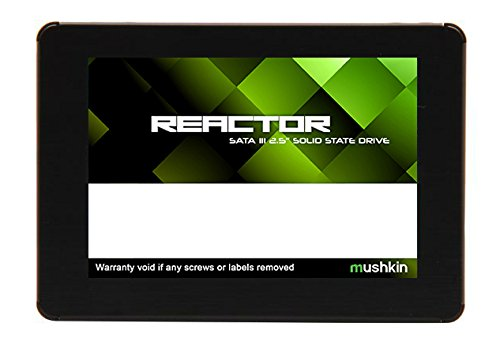 Mushkin REACTOR 1TB Internal Solid State Drive (SSD) 2.5 Inch SATA III 6Gb/s MLC 7mm MKNSSDRE1TB by Mushkin
