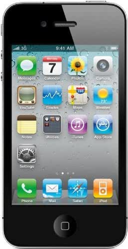 Apple iPhone 4 8GB Unlocked- Black