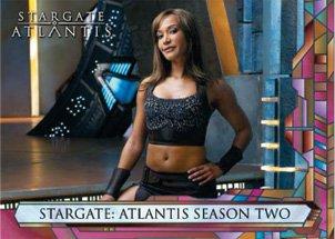 Stargate Atlantis Season 2 Trading Card Set
