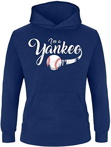 EZYshirt® I`am a Yankee Baseball Shirt Pullover Kinderen | Jongens Hoodie | Hoodie
