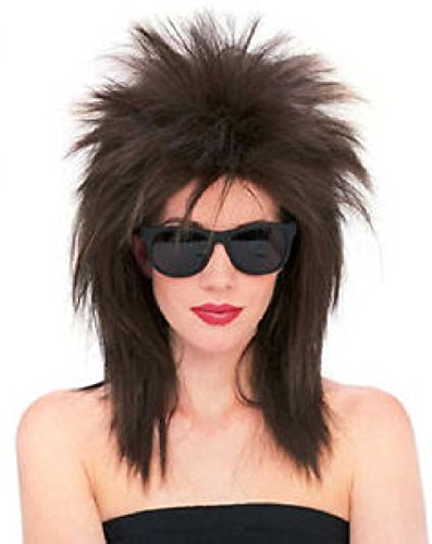 Super Star Wig 80s Diva Punk Rock Wig Tina Turner 80's Costume Wig