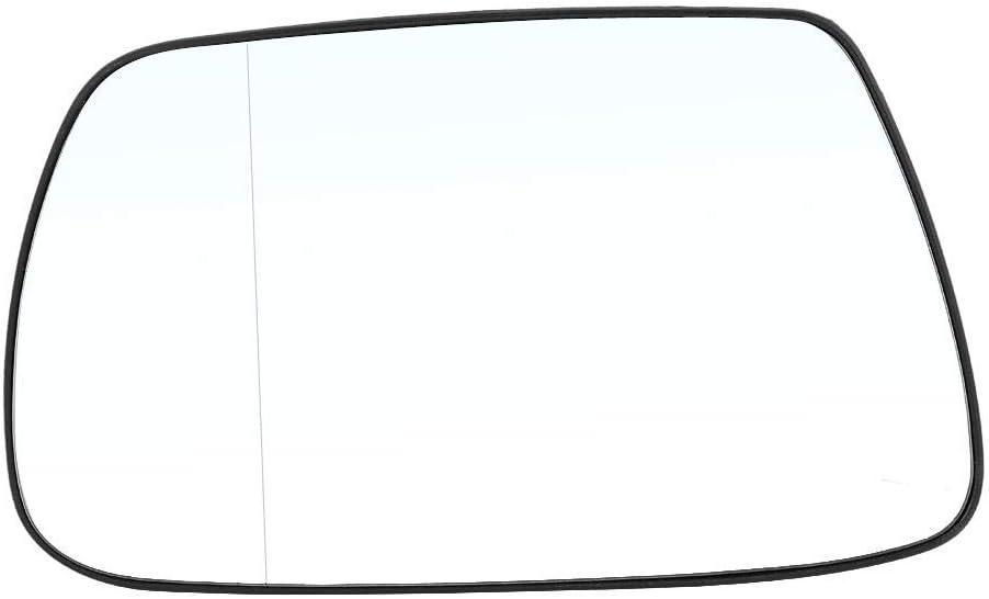 Yctze Verre de r/étroviseur daile c/ôt/é gauche de la porte du conducteur c/ôt/é voiture verre de r/étroviseur chauffant ext/érieur automobile pi/èces de rechange pour J-eep Grand Cherokee 2005-2010