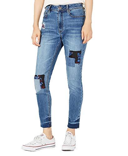 American Rag Juniors' Patchwork Skinny Jeans (Brocado, 11) ()