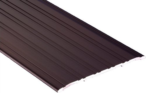 Pemko Fluted Saddle Threshold, Dark Bronze Anodized Aluminum, 72''L x 5''W x 0.25''H by Pemko (Image #1)