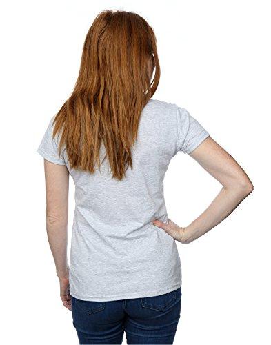 Guns N Roses Damen Bullet Logo T-Shirt X-Small Heather Grey