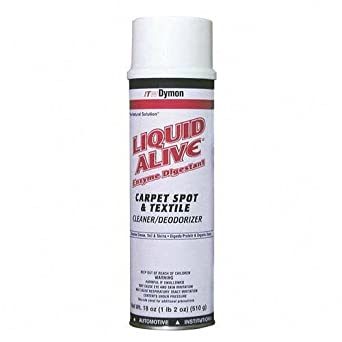 Dymon 33420 20-Ounce Liquid Alive Enzyme Digestant Aerosol Can (Case of 12)