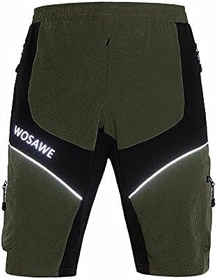 394faa52a87f8 WSNH888 Shorts Deportivos para Hombres Outdoor Breather Cremallera Ligera De  Secado Rápido Y 4 Bolsillos