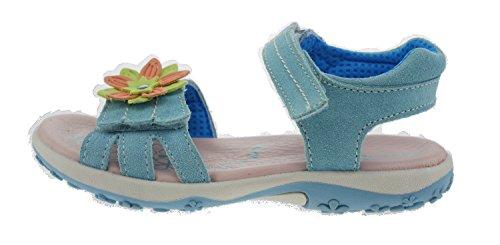 Pour Lurchi Bleu Sandales Aqua Fille wXSBqOx