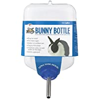 Miller Manufacturing BB64 Bunny Drinking Bottle for Small Animals, 64-Ounce