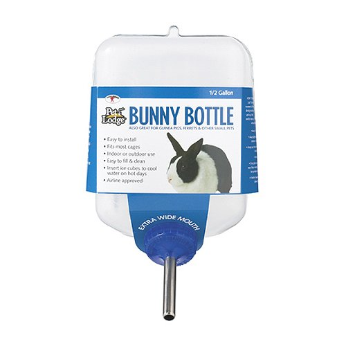 Miller Manufacturing BB64 Bunny drinking Bottle for Small Animals, 64-Ounce by Miller (Image #1)