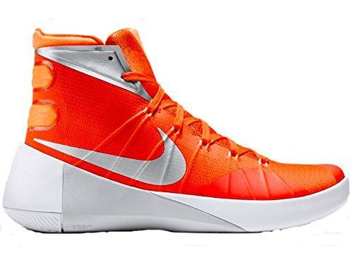 big sale d30a4 41c59 Galleon - NIKE Mens Hyperdunk 2015 TB Basketball Shoe (Orange  Blaze Metallic Silver-Bright Citrus, 14 D(M) US)