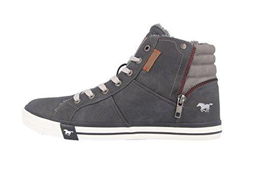 Mustang - Zapatillas altas Mujer, color Gris, talla 44
