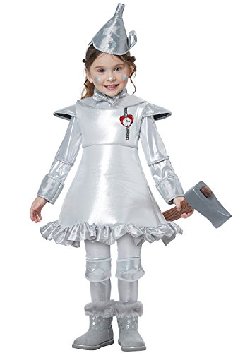 Tin Man of Oz Toddler Costume Silver]()
