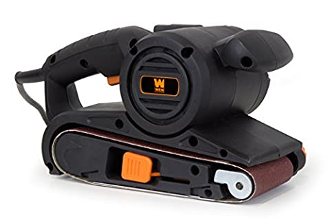 WEN 6318 6 Amp Heavy Duty Belt Sander with Dust Bag, 3 x 18