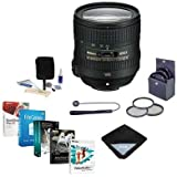 Nikon 24-85mm f/3.5-4.5G ED AF-S VR NIKKOR Lens - USA Warranty - Bundle with Filters & Pro Software