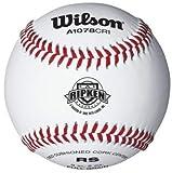 Wilson A1078 Cal Ripkin League Series Baseball (12-Pack), White