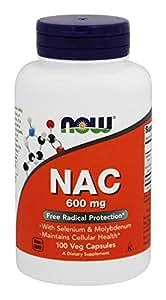 Now Foods Nac 600mg, 100 VegiCaps