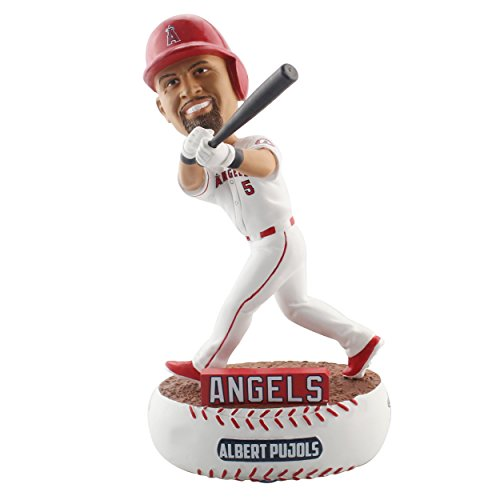 Forever Collectibles Albert Pujols Los Angeles Angels Baller Special Edition Bobblehead - Pujols Collectibles Albert