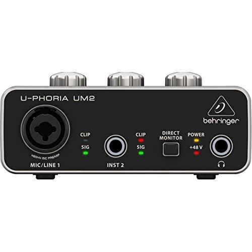 BEHRINGER Audio Interface, 1x XLR/TRS 1x 1/4